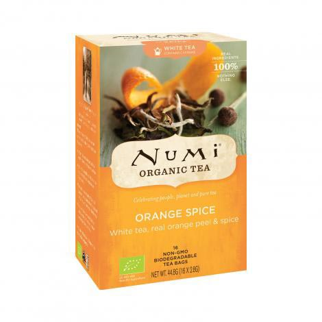 Numi Organic tea Orange spice Bílý čaj 45 g