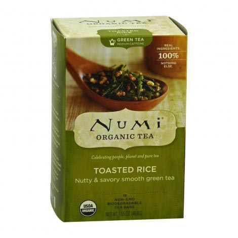 Numi Organic tea Toasted Rice zelený čaj 47 g