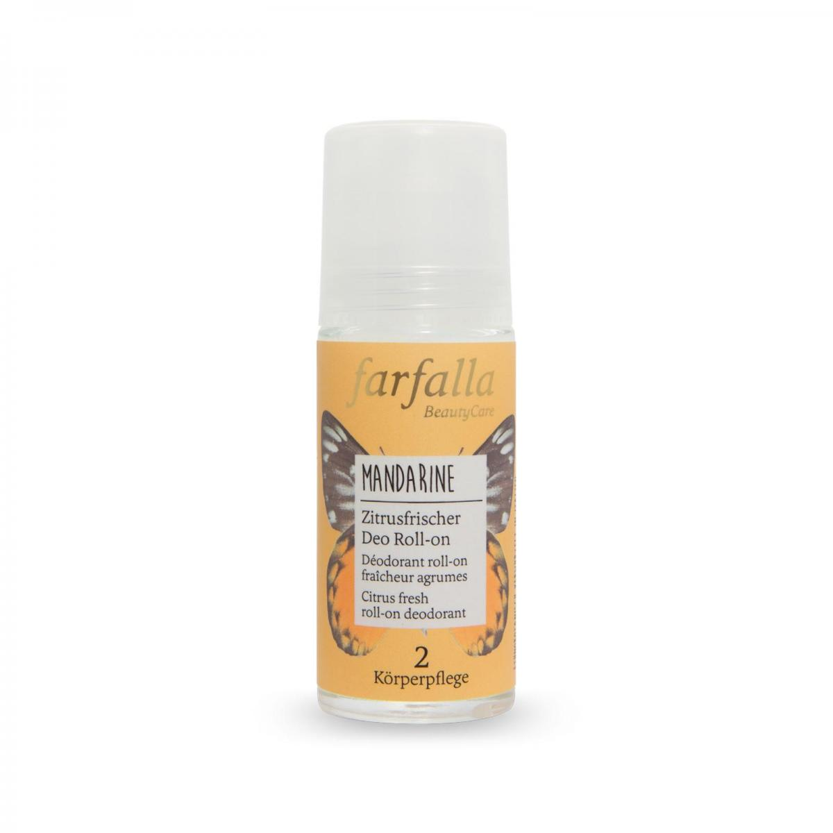 Farfalla Deo roll-on mandarinka, citrusové plody 50 ml