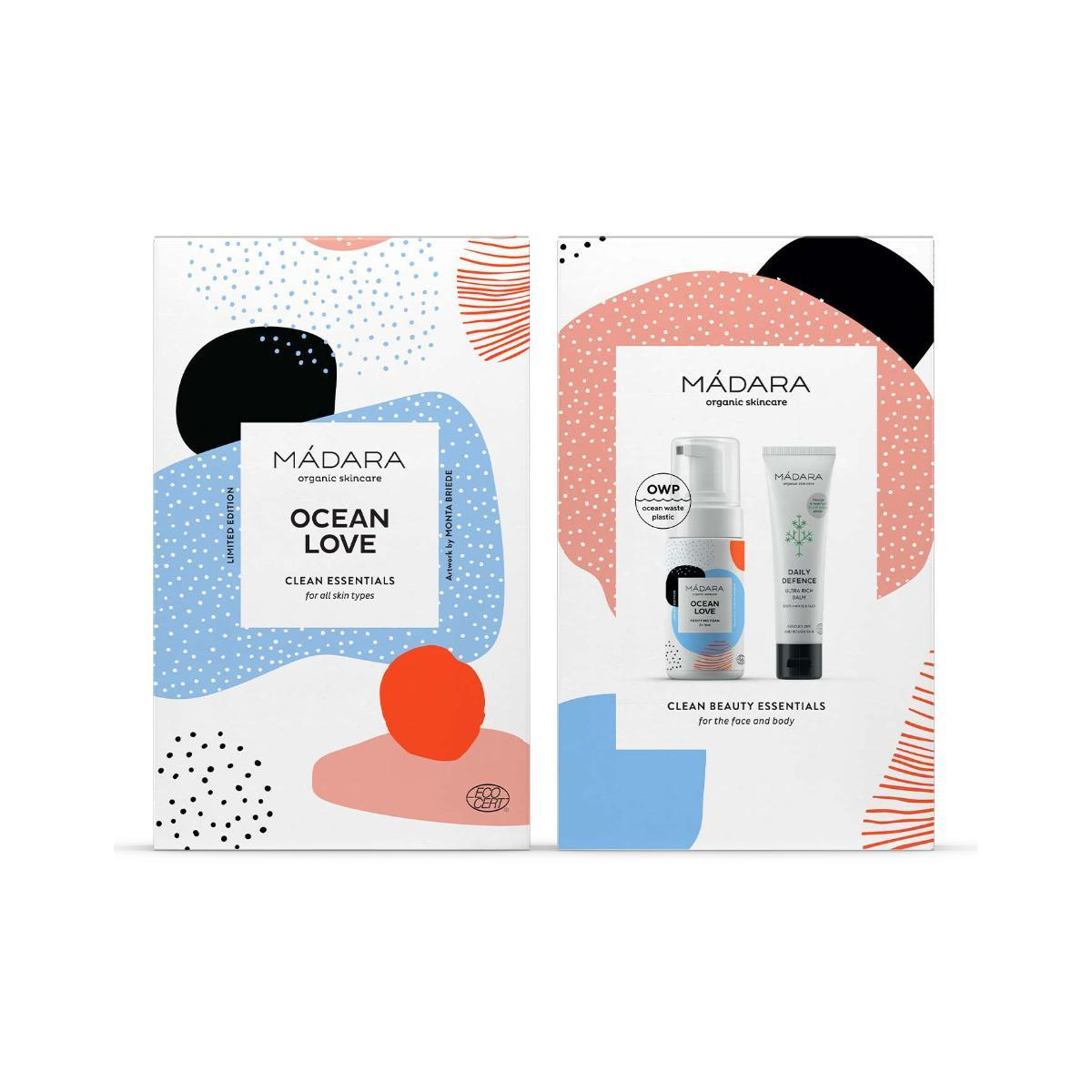 Mádara Ocean love Clean essentials set dárkový set